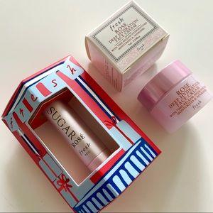 Mini Fresh Rose Lip & Moisturizer Duo